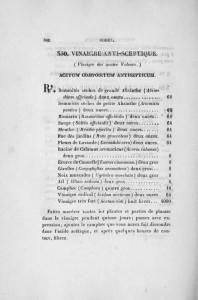 La recepta del 4 lladres del Còdex farmacèutic francès