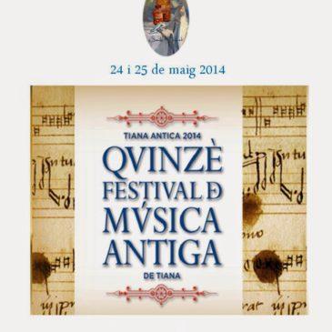 Música antiga amb Perfums històrics