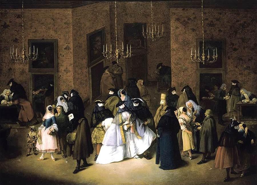Il Ridotto in Venice (Pietro Longhi) 1750
