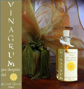Maceració de vinagre del Celler Quim Batlle i olis essencials per a la pell