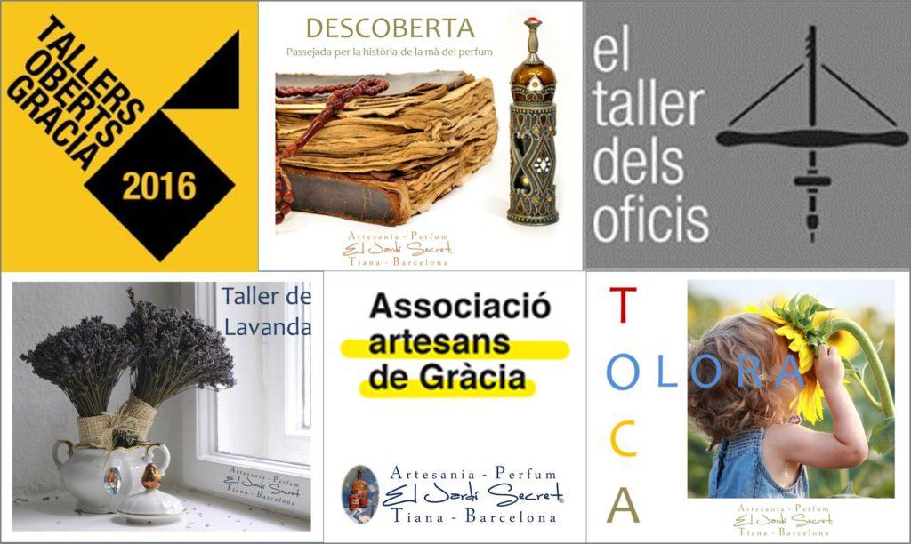Tallers Oberts Gràcia Associació Artesans de Gràcia - El Jardí Secret