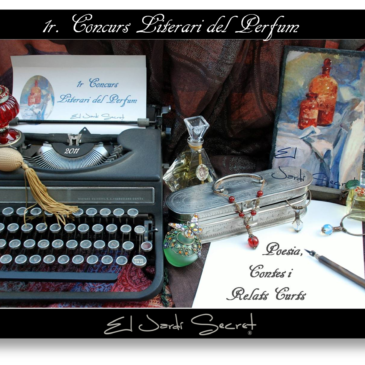 """1r Concurs Literari del Perfum """"El Jardí Secret"""""""