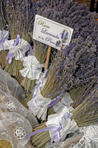 Rams de lavanda de la Provença
