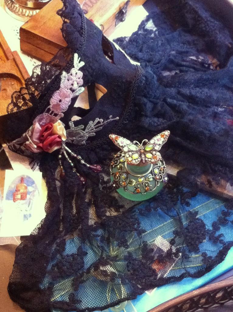 perfume and masks