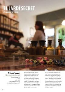 Primer anunci de la nova revista Tiana't d'informació municipal.