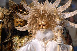 Carnival masks and