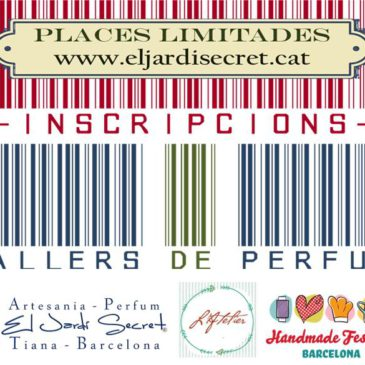 Workshops perfume of the Atelier Handmade Festival BCN