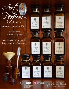 Art Perfum 3 d'abril - 10 de maig