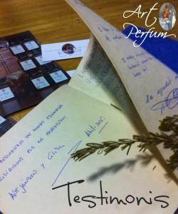 Art Perfum - Testimonis