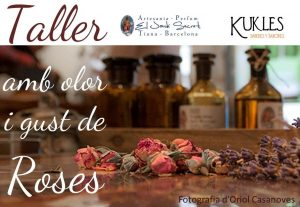 Workshop with taste and smell of roses