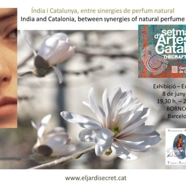 India y Cataluña, entre sinergias de perfume natural